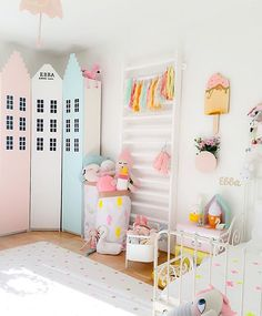 Kids room pastels