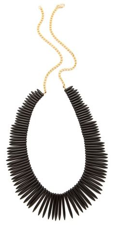 Kenneth Jay Lane Spike necklace