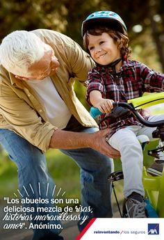 Los abuelos son magos que crean recuerdos maravillosos para sus nietos. #DíaDelAbuelo