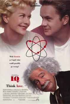 I.Q. , starring Tim Robbins, Meg Ryan, Walter Matthau, Lou Jacobi. Albert Einstein helps a young man who's in love with Einstein's niece to catch her attention by pretending temporarily to be a great physicist. #Comedy #Romance