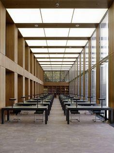 jacob + wilhelm grimm centre library - berlin - max dudler - photo stefan müller