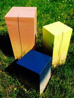 colour on wood
