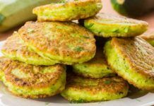 Looking for ways to use zucchini this summer? Try making a big batch of zucchini fritters basically like zucchini pancakes, which work great for breakfast, lunch, or dinner. Super versatile, this recipe offers plenty of room Zucchini Pancakes, Zucchini Fritters, Zucchini Burgers, Corn Fritters, Types Of Pancakes, Food And Drink, Easy Meals, Cooking Recipes, Vegetarian