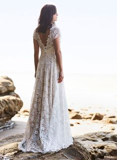 Boho Lace Wedding Dress I Anna Schimmel I Bridal I NZ