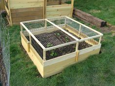Raised Bed Cover… « Woodworkingman's Blues