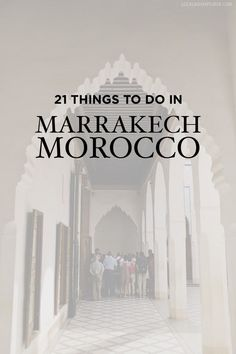 21 Fascinating Things to Do in Marrakech Morocco - the old town or Medina is a world UNESCO heritage site // http://localadventurer.com