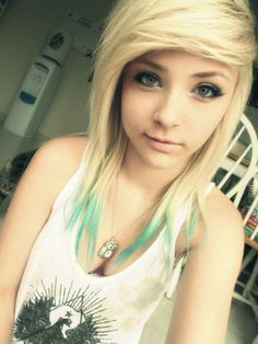 maybe. but i hate it when people dip-dye their hair because for me its all or nothing