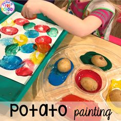 Be a painter like the girl in the book Jobs of a Preschooler.