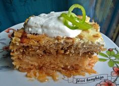Rakott káposzta savanú káposztából Food And Drink, Rice, Desserts, Diet, Tailgate Desserts, Deserts, Postres, Dessert, Laughter