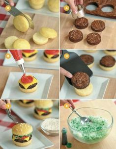 these are the BEST Cupcake Ideas!- Easy Cheeseburger Cupcakes…these are the BEST Cupcake Ideas! Easy Cheeseburger Cupcakes…these are the BEST Cupcake Ideas! Delicious Desserts, Dessert Recipes, Yummy Food, Summer Cupcake Recipes, Cute Desserts, Fun Cupcakes, Summer Cupcakes, Cupcake Cupcake, Taco Cupcakes
