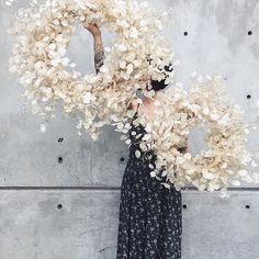 """416 Likes, 10 Comments - Poet's Ode (@poets_ode) on Instagram: """"Oh how I adore this! Magical fairy wreaths by @aleajoy #inspiration #poetsode"""""""