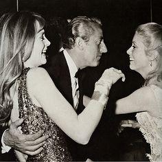 Françoise Dorléac, Benno Graziani and Catherine Deneuve, c. 1960s