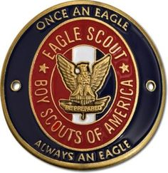 EAGLE SCOUT HIKING STICK STAFF MEDALLION CHALLENGE COIN   eBay Need to get this to add to Brett's hiking stick