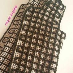 Plaid Crochet, Crochet Poncho Patterns, Crochet Coat, Crochet Jacket, Crochet Cardigan, Baby Knitting Patterns, Crochet Clothes, Crochet Stitches, Learn To Crochet