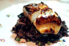 Miso-Glazed Sea Bass  http://blog.freepeople.com/2012/06/misoglazed-sea-bass/