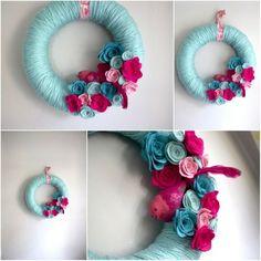 Bird/Flower wreath idea by joanne