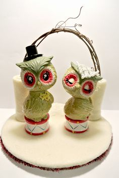 owl wedding cake toppers for sale marian robin hoods and on 18102