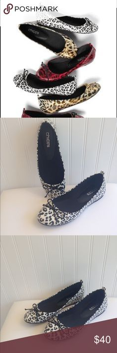 NWOT Chico's Leopard Ballot Flats Size 7.5. NWOT Chico's Leopard Ballot Flats Size 7.5. Adorable shoes! Chico's Shoes Flats & Loafers