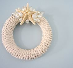 Sea Star Rope Wreath #homedecor