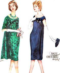 Vintage Sewing Pattern 1950s Vogue Couturier Design by paneenjerez, $40.00