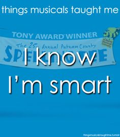 things musicals taught me: Annual Putnam County Spelling Bee musical Theatre Geek, Musical Theatre, Theater, Bee Quotes, Tony Award Winners, Putnam County, Spelling Bee, Bad Puns, I Found You