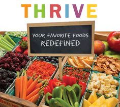 Our vendor Thrive Foods
