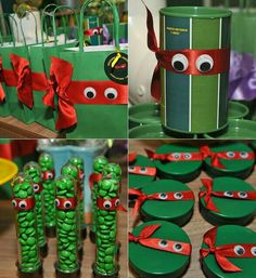 Ninja Turtle Birthday, Ninja Turtle Party, Ninja Turtles, Ninja Turtle Decorations, Ninja Party, 6th Birthday Parties, Party Time, Crafts, Bernardo