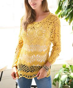 Hairpin 'Crocheted Boatneck Top', by Ananda's Collection, from Zulily. 100% Lightweight cotton. https://s-media-cache-ak0.pinimg.com/originals/d5/b7/df/d5b7df583a23bed49e2dd33ed30aa2c0.jpg http://media-cache-ec0.pinimg.com/originals/9b/14/5b/9b145bf20480e798eaf5b6b9fbcadee5.jpg https://s-media-cache-ak0.pinimg.com/originals/22/bb/b8/22bbb841174406340894ad078392560b.jpg