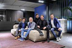 Verantwoordelijk team 'De Elementen' Marc van der Burch, Jos van Zijl, Renzo Bellinazzi, Rogier Bosch en Twan Swanenberg