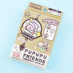Kirby Pupupu Friends Rubber Charm - Blippo Kawaii Shop Kirby Character, Friends Series, Kawaii Accessories, Kawaii Shop, Welcome Gifts, Hello Kitty, Super Cute, Charmed, Random