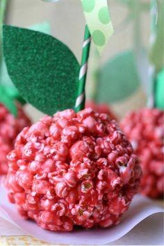 DIY popcorn balls