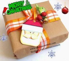 Envolturas navideñas manualidades