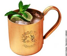Moscow Mule and variations:  3 parts ginger beer, 1 part Vodka, 1 part lime juice and mint (recipe)