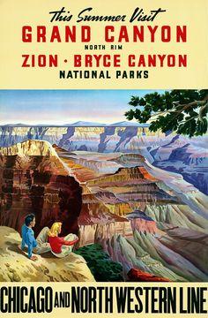 Visit Grand Canyon, Zion, Bryce Canyon National Parks