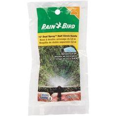 Rain Bird Corp. Consumer Half Dual Spray Nozzle 12DSH Unit: Each, Brown, Gardening