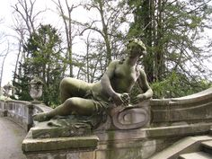 Statue im Park Sanssouci in Potsdam