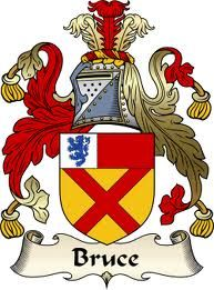 One of the biggest shocks of my research---this is the Coat of Arms of Robert The Bruce ( think Braveheart) King of Scotland, my 21rst Great GrandFather.