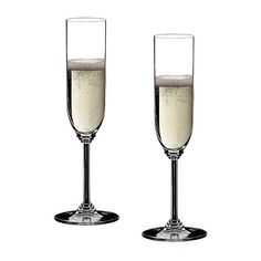 Riedel Wine Champagne Glasses - Set of 2 ($35) ❤ liked on Polyvore featuring home, kitchen & dining, food, food and drink, drinks, filler, clear and riedel