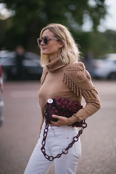 Knitted details