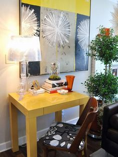 Big Art in Small Spaces — Inspiration Roundup | Apartment Therapy