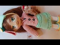 boneca ÁGATA amigurumi 02parte( corpo e união dos braços e pernas) - YouTube Crochet Dolls, Crochet Hats, Barbie Dress, Fingerless Gloves, Arm Warmers, Crochet Patterns, Teddy Bear, Animals, Knitting Toys