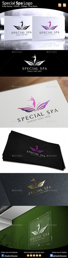 Download this Special Spa Salon Logo from - http://graphicriver.net/item/special-spa-salon-logo/9032002?ref=GladicMonster