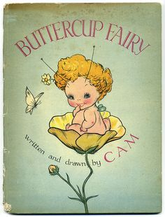 Barbara Mary Campbell (CAM) BUTTERCUP FAIRY, 1945