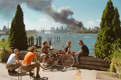 9/11. New York, USA. 2001 ©  Thomas Hoepker / Magnum Photos