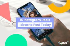15 Instagram Reels Ideas to Post Today - Later Blog List Of Hashtags, How To Use Hashtags, Creative Instagram Stories, Instagram Story Ideas, Best Time To Post, Instagram Marketing Tips, Instagram Bio, Post Today, Social Media Marketing