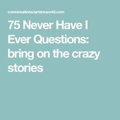 Never Have I Ever Fragen