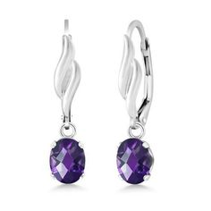 February Birthday? Genuine 1.50 Ct Oval Checkerboard Amethyst 925 Sterling Silver Earrings. 60% Off today only!  Limited stock available. Get yours here==> https://theneedednecklace.com/products/1-50-ct-oval-checkerboard-amethyst-925-sterling-silver-earrings  Tag a friend & get yours now! #jewellery #Necklace #best_of_Necklace #Wedding_jewellery #Fashion #perfect #bridal #wedding #Collection #style #realbride #Bridal2017 #awesome #Beautiful #cool #wonderful