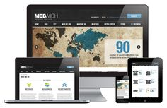MedWish - E-mail Marketing, SEO Implementation, Social Media Strategy, Web Design and Development, Website Analytics