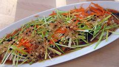 Stekt og syltet makrell Japchae, Ethnic Recipes, Food, Men, Meal, Essen, Hoods, Meals, Eten