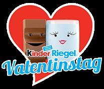 Kinder Riegel valentinstag - logo